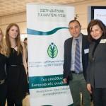 Ο πρόεδρος της Ελληνικής Διατροφολογικής Εταιρείας, Δημήτρης Γρηγοράκης και η ομάδα του